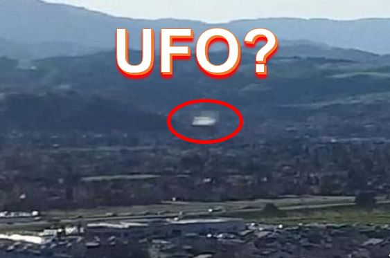 A UFO over Silicon Valley