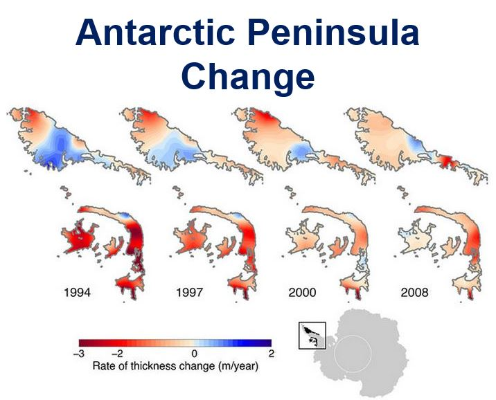 Antarctic Peninsula Change