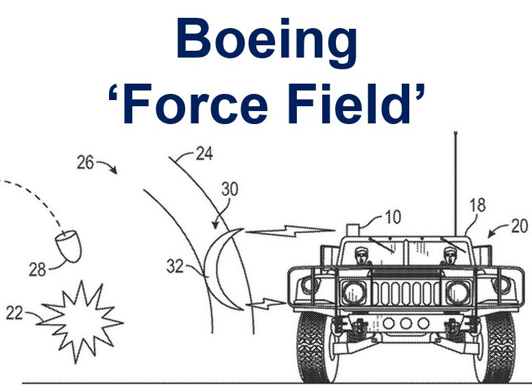 Boeing force field patent