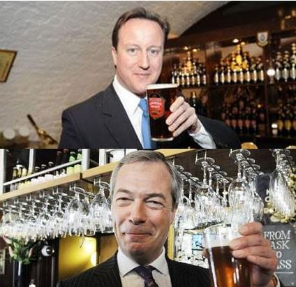 Cameron and Farage