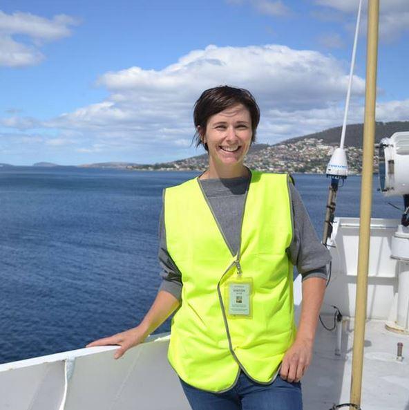 Dr Carey aboard ship