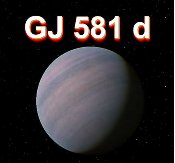 Planet GJ 581 d