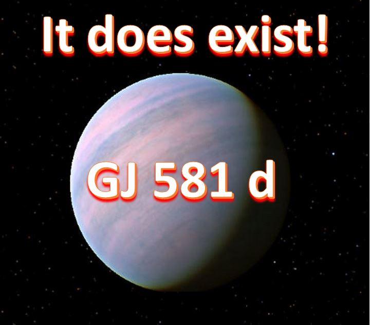 GJ 581 d