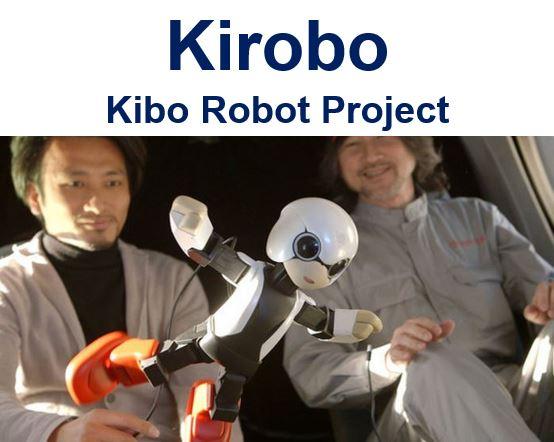 Kirobo Space Robot