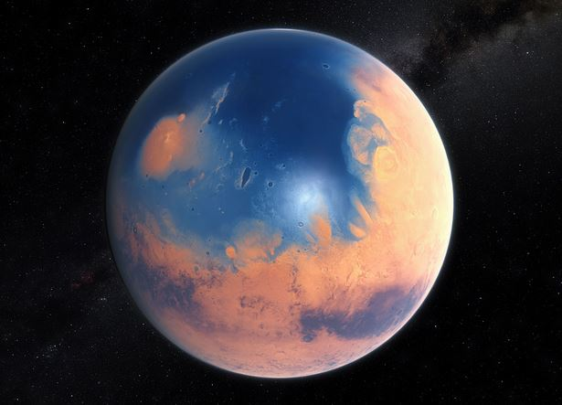 Mars 4bn years ago