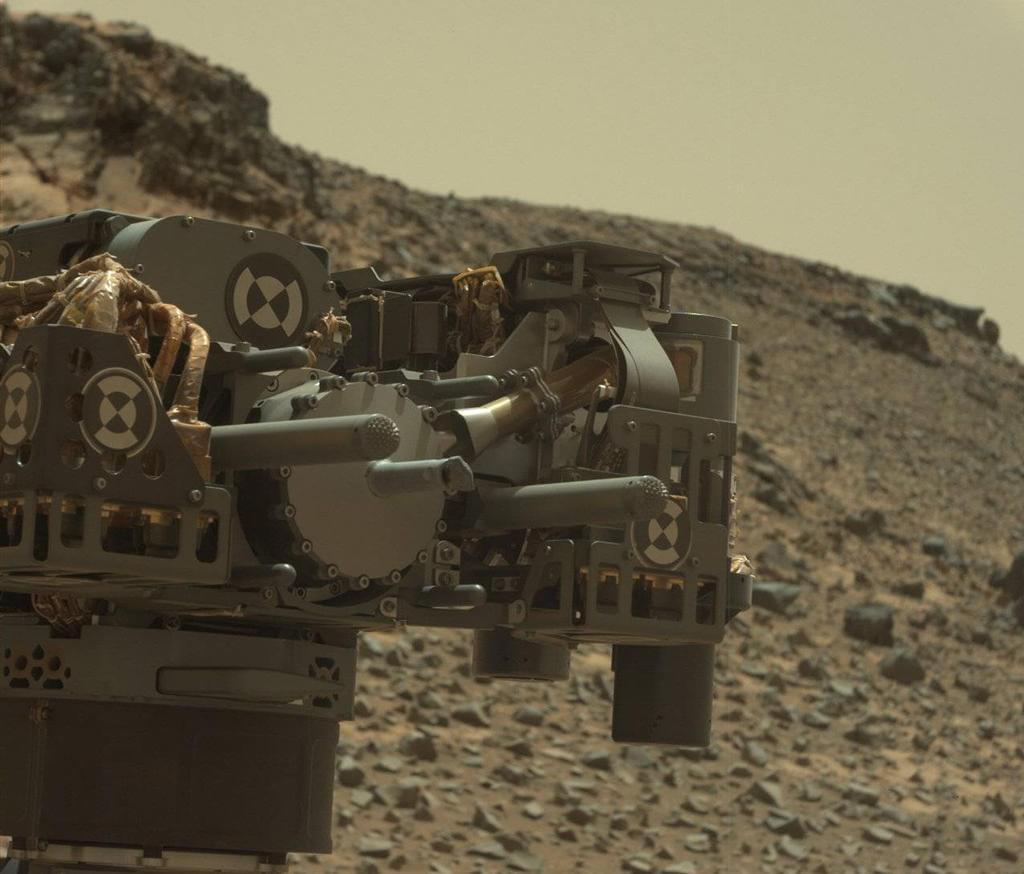 Mars Curiosity Rover Drill