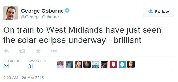 Osborne Tweet