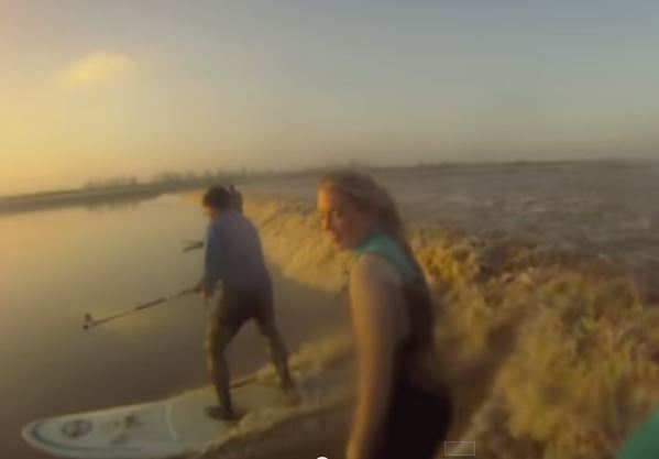 Severn Bore Surfers
