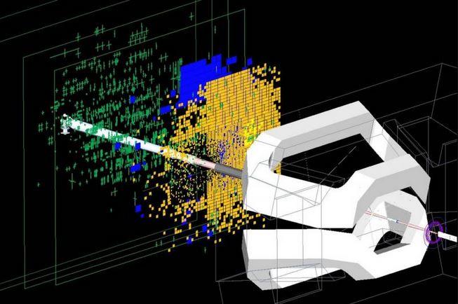 Splash event in LHCb