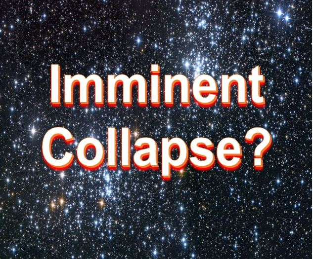 Universe imminent collapse