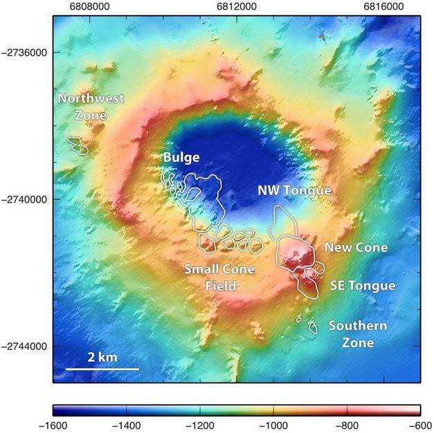 Volcano under the sea