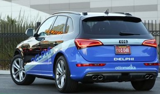 delphi automated vehicle