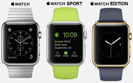 Apple Watch types