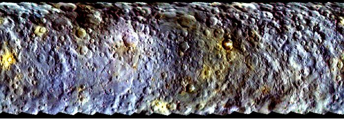 Ceres surface