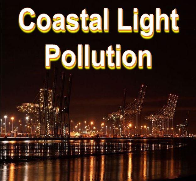 Coastal light pollution Southampton