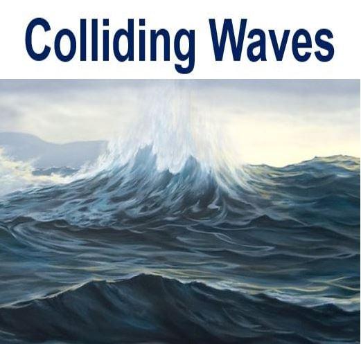 Colliding waves cause hum