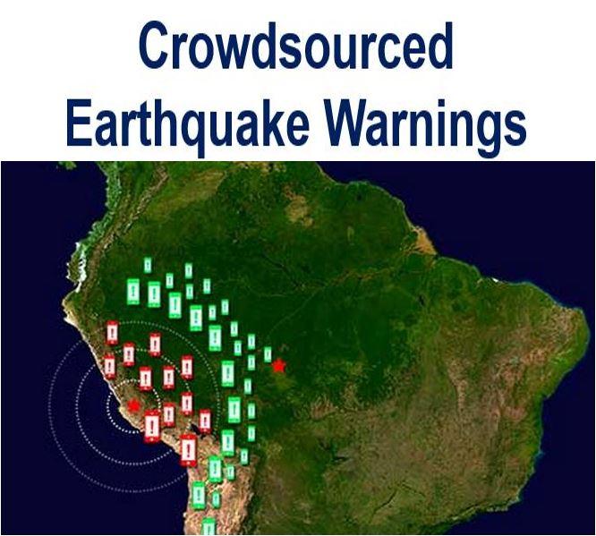 crowdsourced earthquake warning