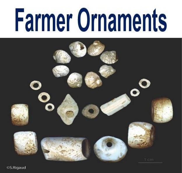 Farmer ornaments