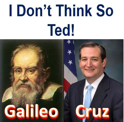 Galileo and Cruz