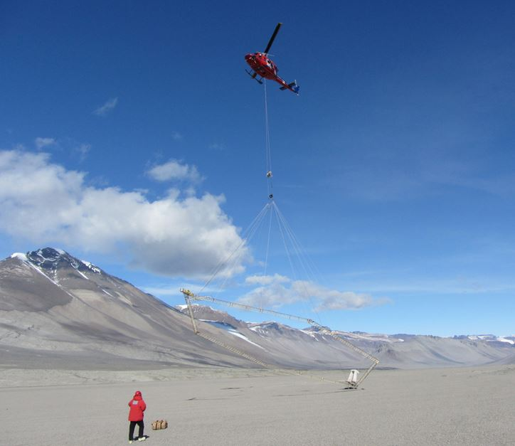 Helicopter Antarctica
