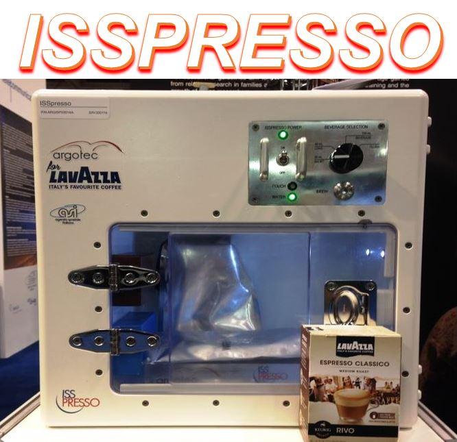 Space coffee espresso machine, the ISSpresso, delighting astronauts - Market Business News