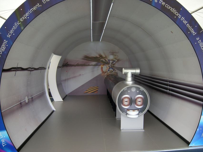Model of LHC tunnel