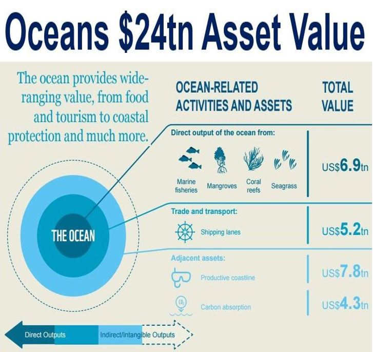 Oceans asset value