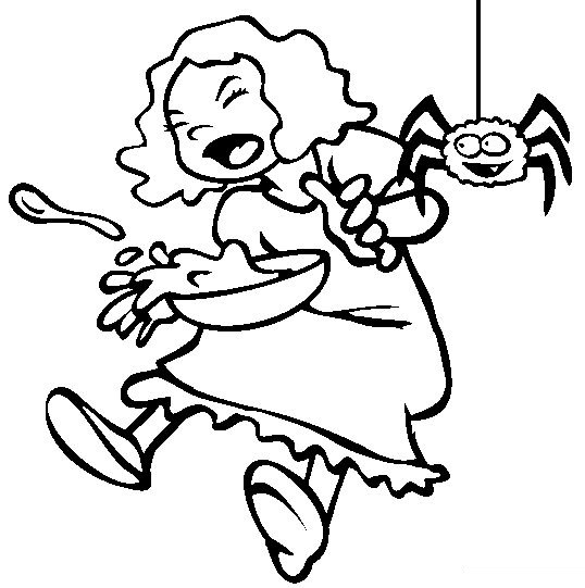Spider little miss muffet