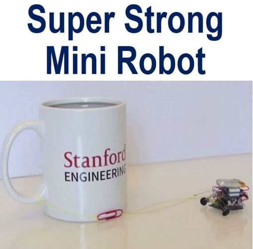 Super strong mini robot