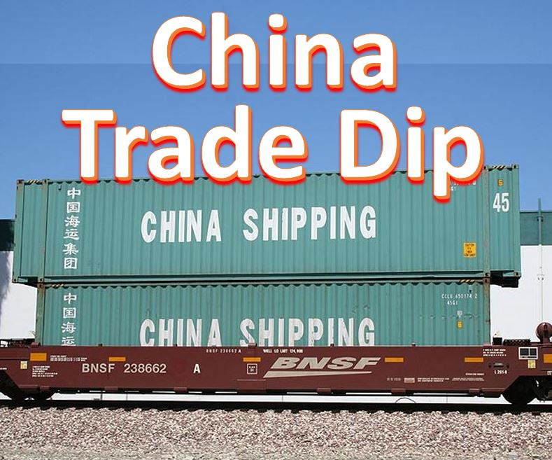 Surprise China trade decline
