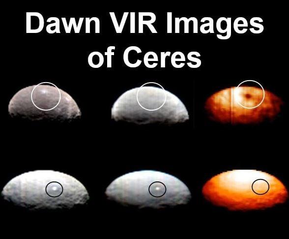 VIR images of Ceres