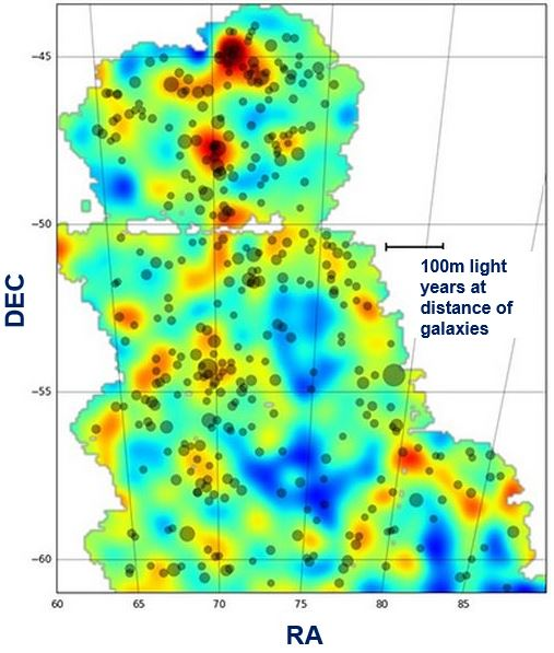 dark matter map