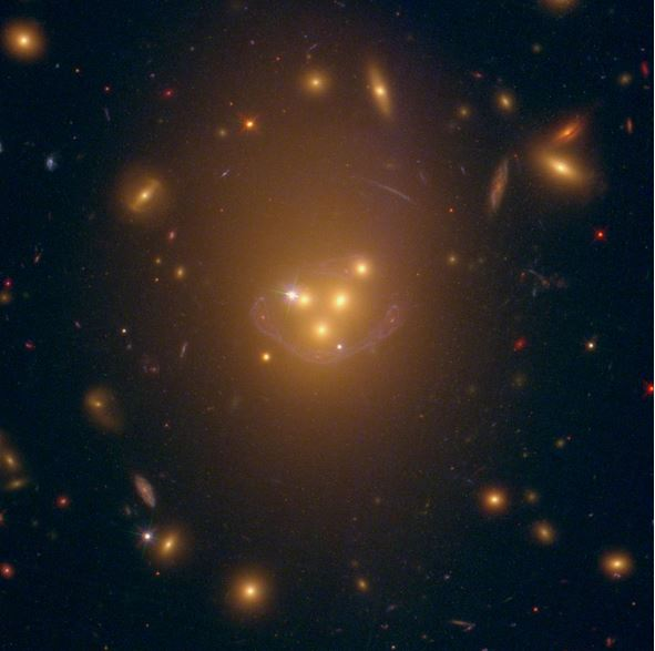 Dark matter seen interacting with a non-gravity force, so ...