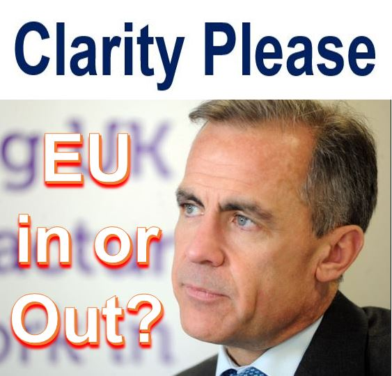 EU in or Out Carney