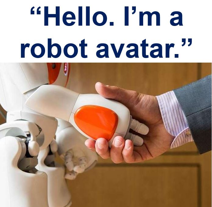 Robot avatar NAO