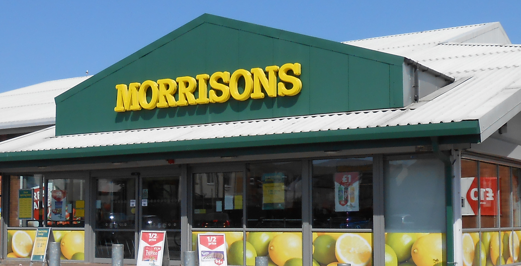 Morrisons Supermarket, Church Road, Seacombe, Wallasey, Wirral, Merseyside, England.