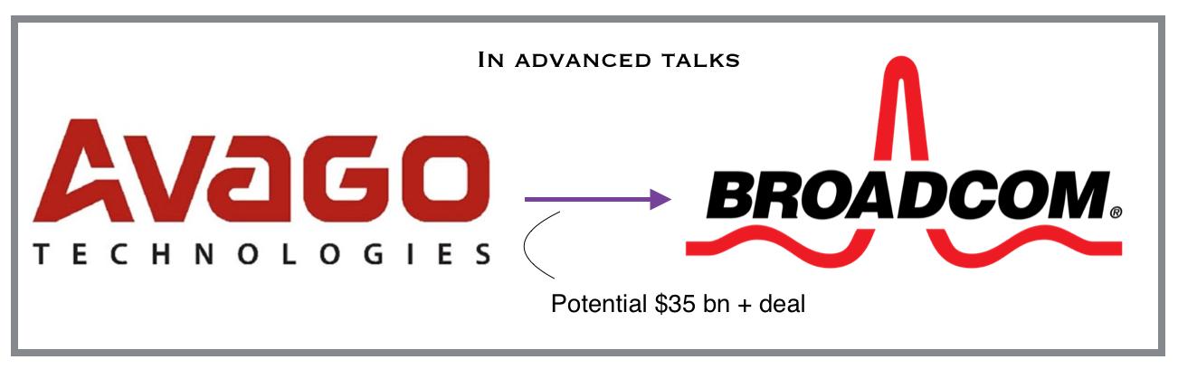 Avago Broadcom deal