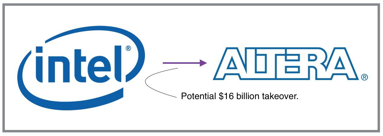 Intel Altera takeover