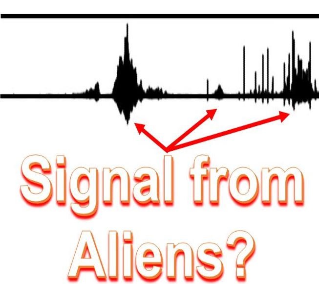 Signal from aliens