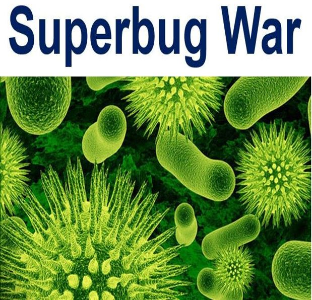 Superbug War image