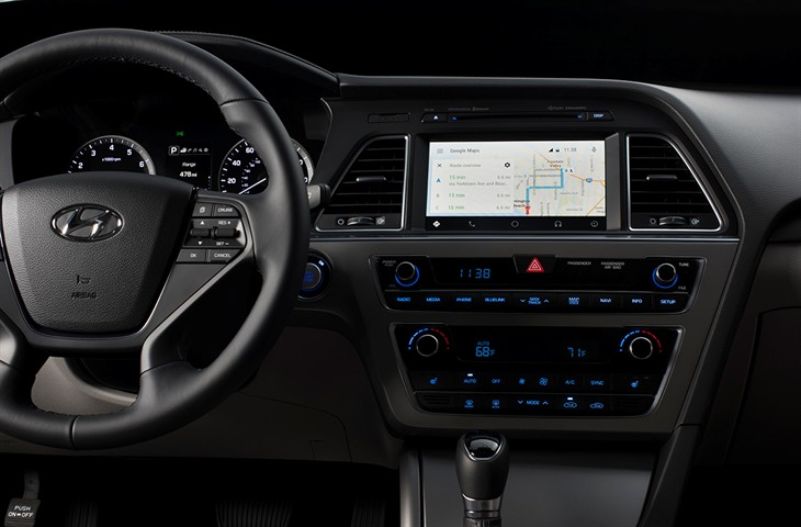 Android Auto in Hyundai Sonata