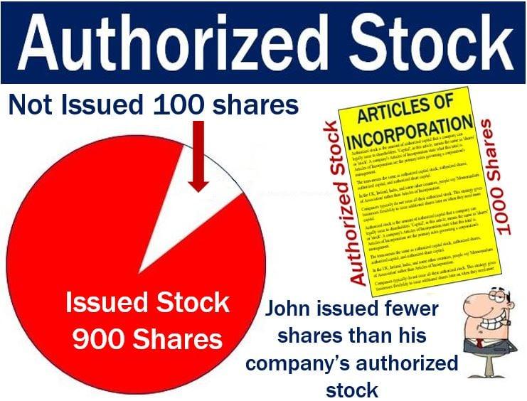 Authorized Stock - Pie Chart