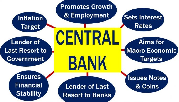 Central Bank - duties and actions
