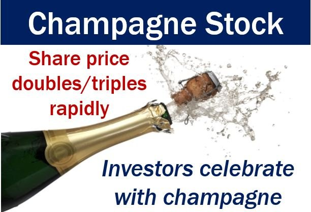 Champagne stock - explanation of the term