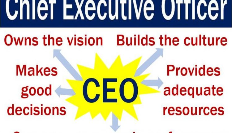 Chief Executive Officer - Five vital functions