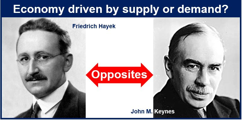Hayek and Keynes