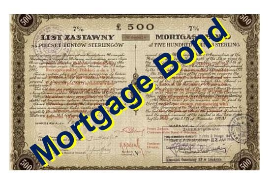 Mortgage Bond