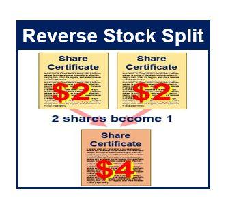 Reverse stock split thumbnail