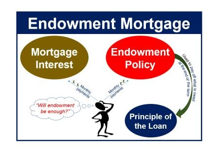 What is an endowment mortgage? Definition and meaning ...