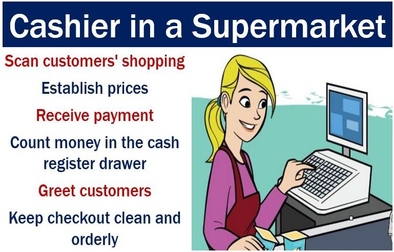Cashier Definition And Meaning Market Business News